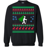 Hiking and Backpacking Ugly Christmas Sweater sweatshirt