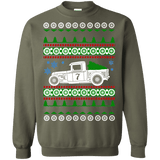 Hot Rod Truck 1932 Ford Race Car Ugly Christmas Sweater