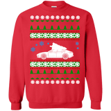 german car Porsche style Panamera Ugly Christmas Sweater