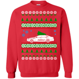 parole police car ugly christmas sweater