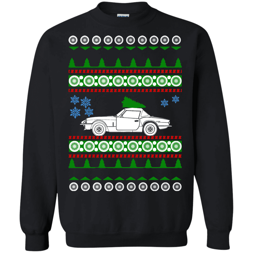 Triumph Spitfire Ugly Christmas Sweater sweatshirt
