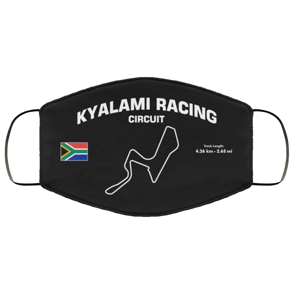 Kyalami Racing Circuit Face Mask