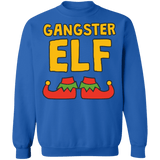 Gangster Elf Ugly Christmas Sweater sweatshirt