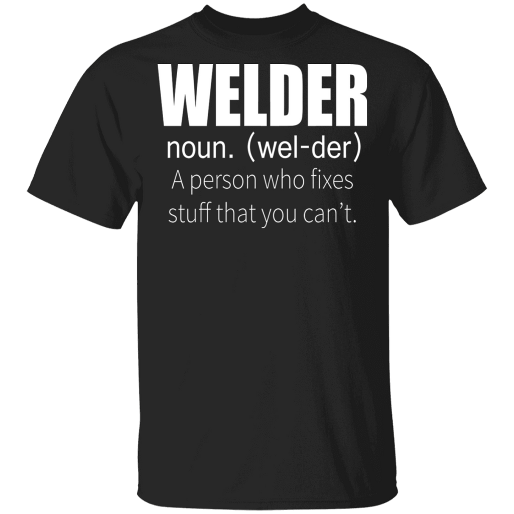 Welder Definition T-shirt