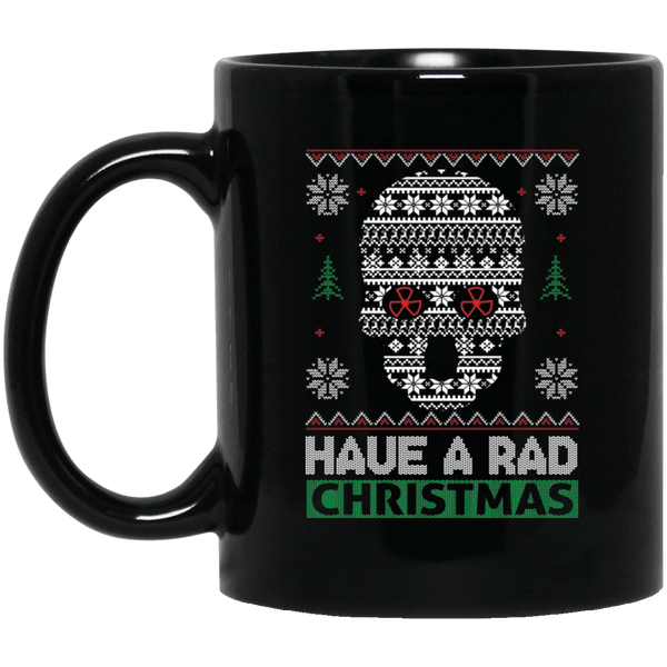 Radiology X-ray Technician Christmas Ugly Mug