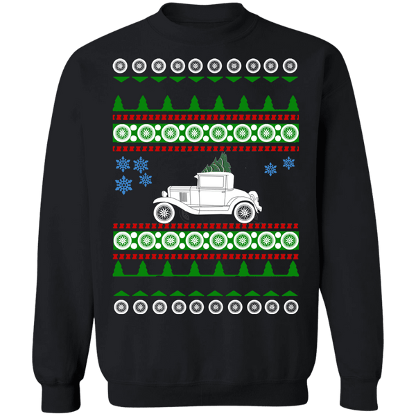 1930 Chevy Coupe Ugly Christmas Sweater