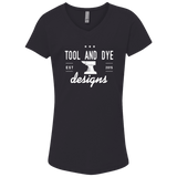 Tool and Dye Classic white Anvil logo girls t-shirt
