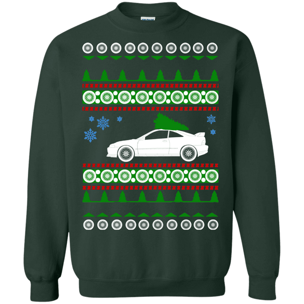 jdm acura integra ugly christmas sweater