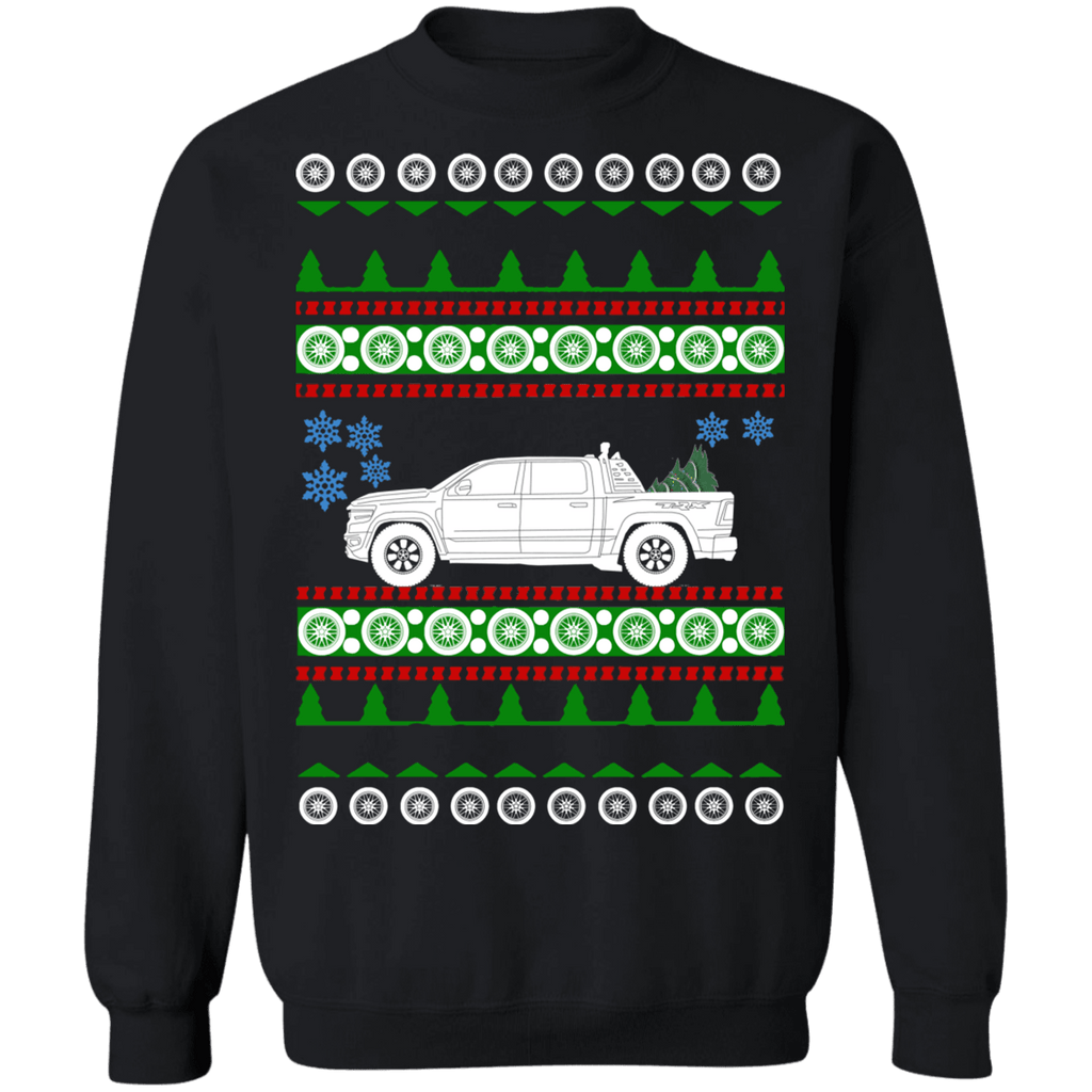 Truck Dodge Ram 1500 TRX ugly christmas sweater sweatshirt