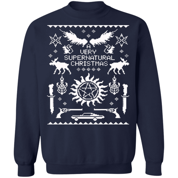 A very supernatural ugly christmas sweater