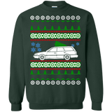 Subaru Station wagon ugly christmas sweater
