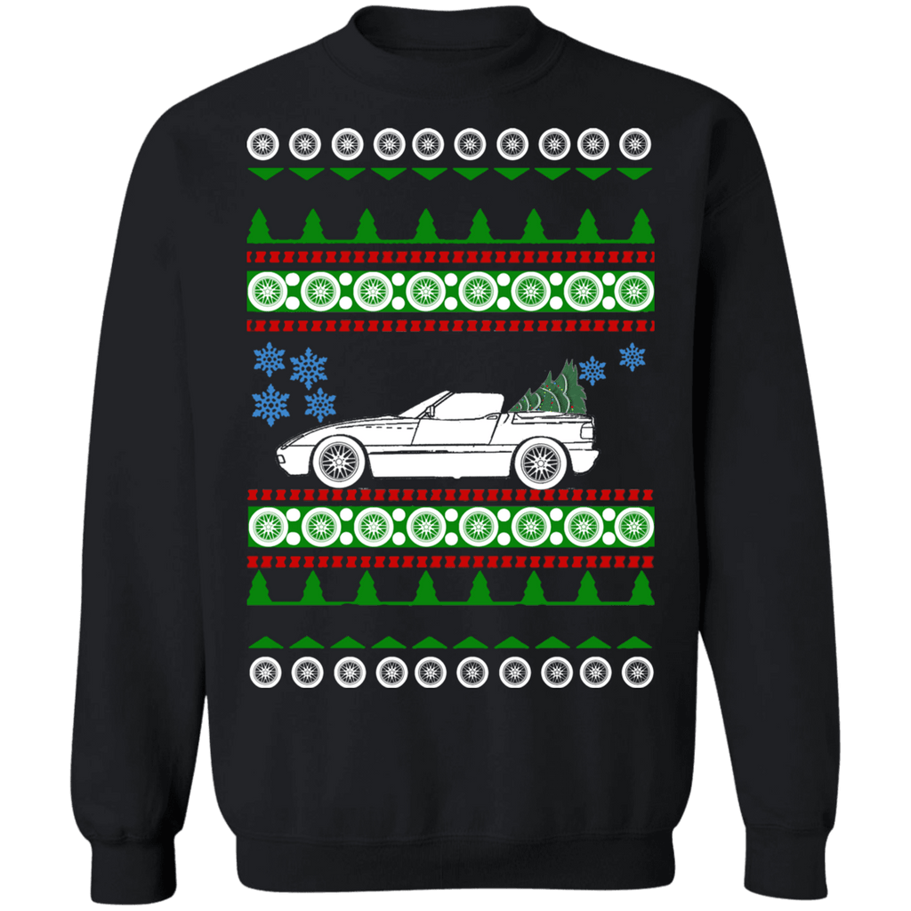 German Car like Z1 BMW Ugly Christmas Sweater
