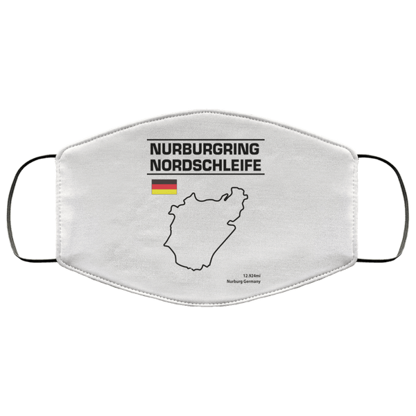 Nurburgring Nordschleife Washable Face Mask