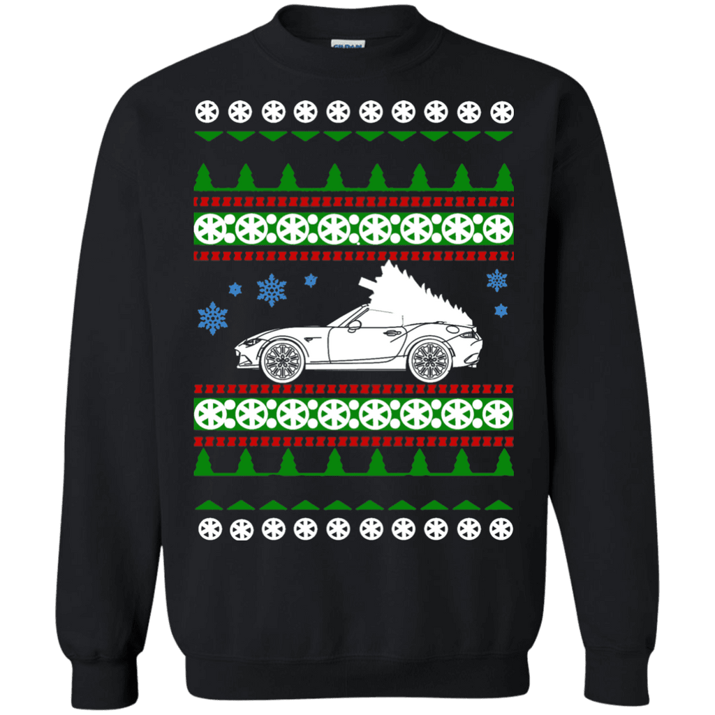 New Miata Ugly Christmas Sweater Crewneck sweatshirt