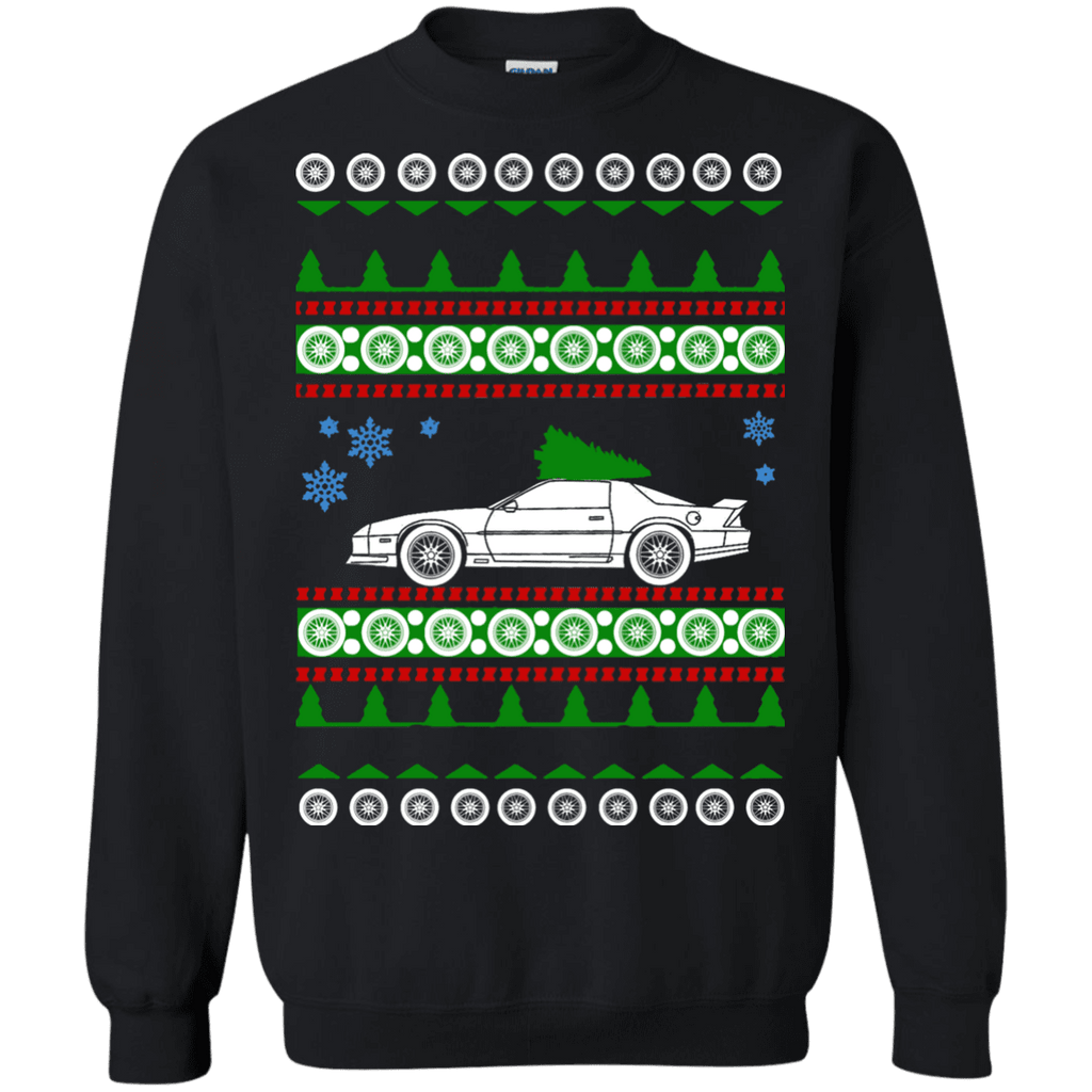 3rd generation Chevy Camaro ugly christmas sweater sweatshirt