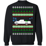 Pick Up Truck Ugly Christmas Sweater Mazda B2600 Extended cab sweatshirt