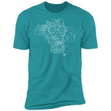 Engine Blueprint Series 4AGE Toyota t-shirt