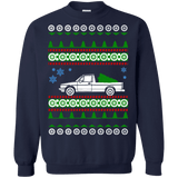 German Car like Rabbit Truck caddy ulgy christmas Sweater