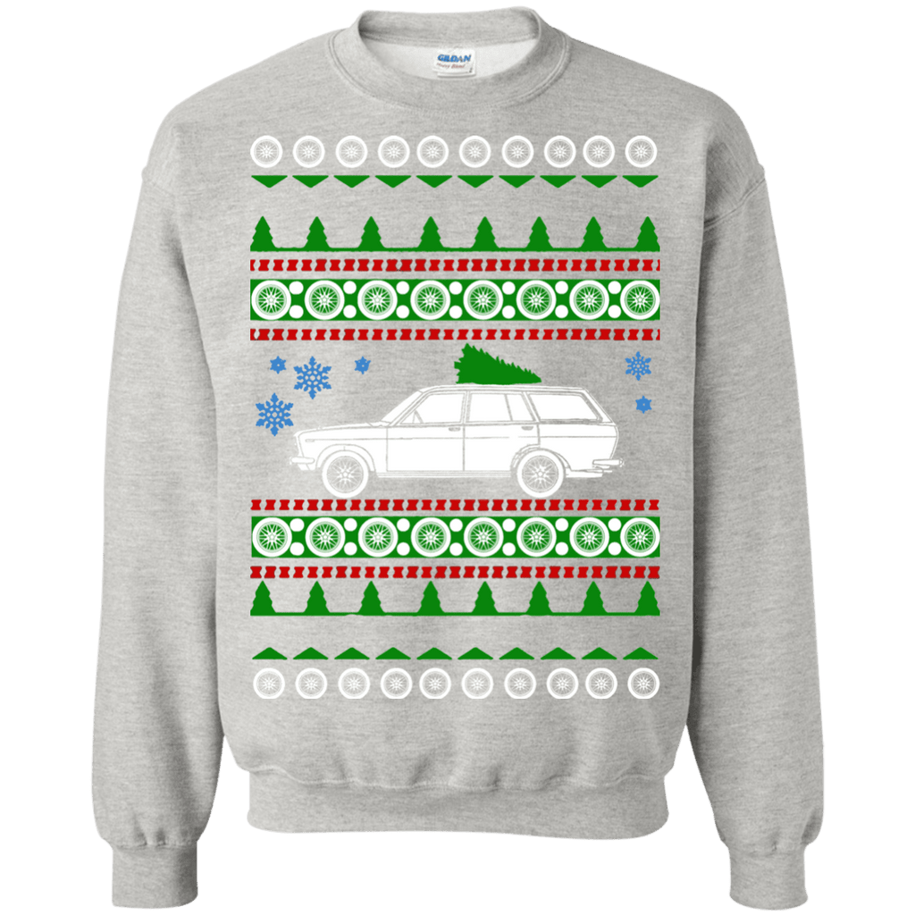 Datsun 510 wagon ugly christmas sweater