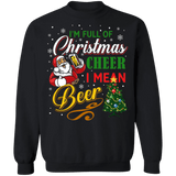 I'm full of christmas cheer I mean beer ugly holiday sweater sweatshirt