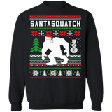 Santasquatch Bigfoot Sasquatch Funny Ugly Christmas Sweater sweatshirt