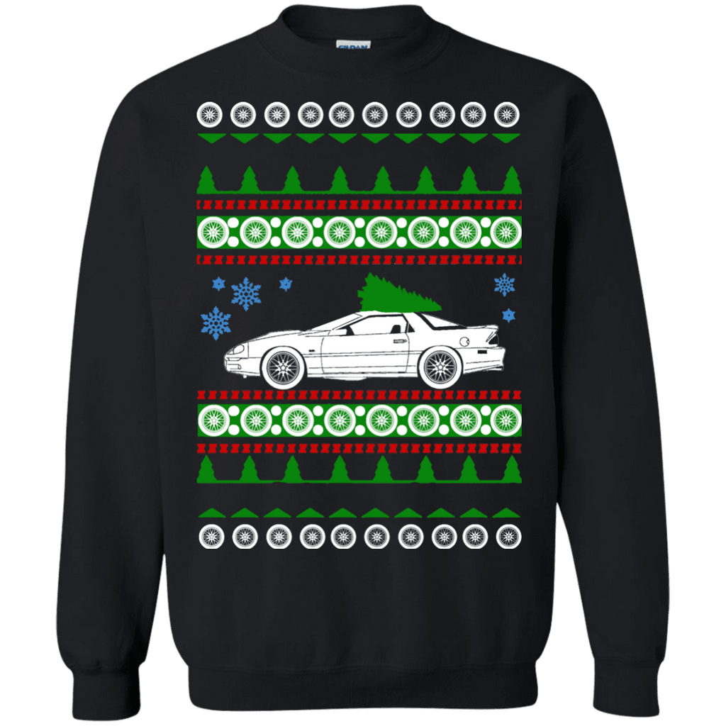 Chevy Camaro 4th Gen 2001 Ugly Christmas Sweater