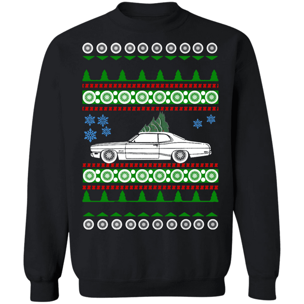 1971 Plymouth Duster Ugly Christmas Sweater