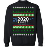 2020 Ugly Christmas Sweater 1 Star Review Fucking Bullshit Would not recommend