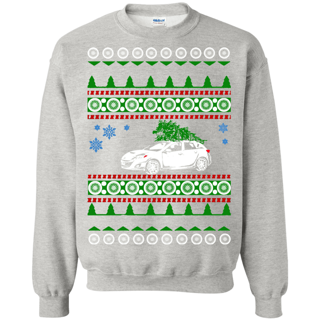 Mazda speed 3  ugly christmas sweater