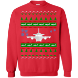 Airplane Aviation Ugly Christmas Sweater sweatshirt