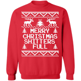 Shitters Full Merry Christmas Ugly Sweater Vacation sweatshirt