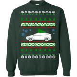 Tesla Model X ugly christmas sweater
