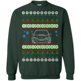 Subaru WRX STI Blobeye front view ugly christmas sweater