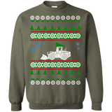 Payloader Pay Loader Excavator Ugly Christmas Sweater Heavy Equipment sweatshirt