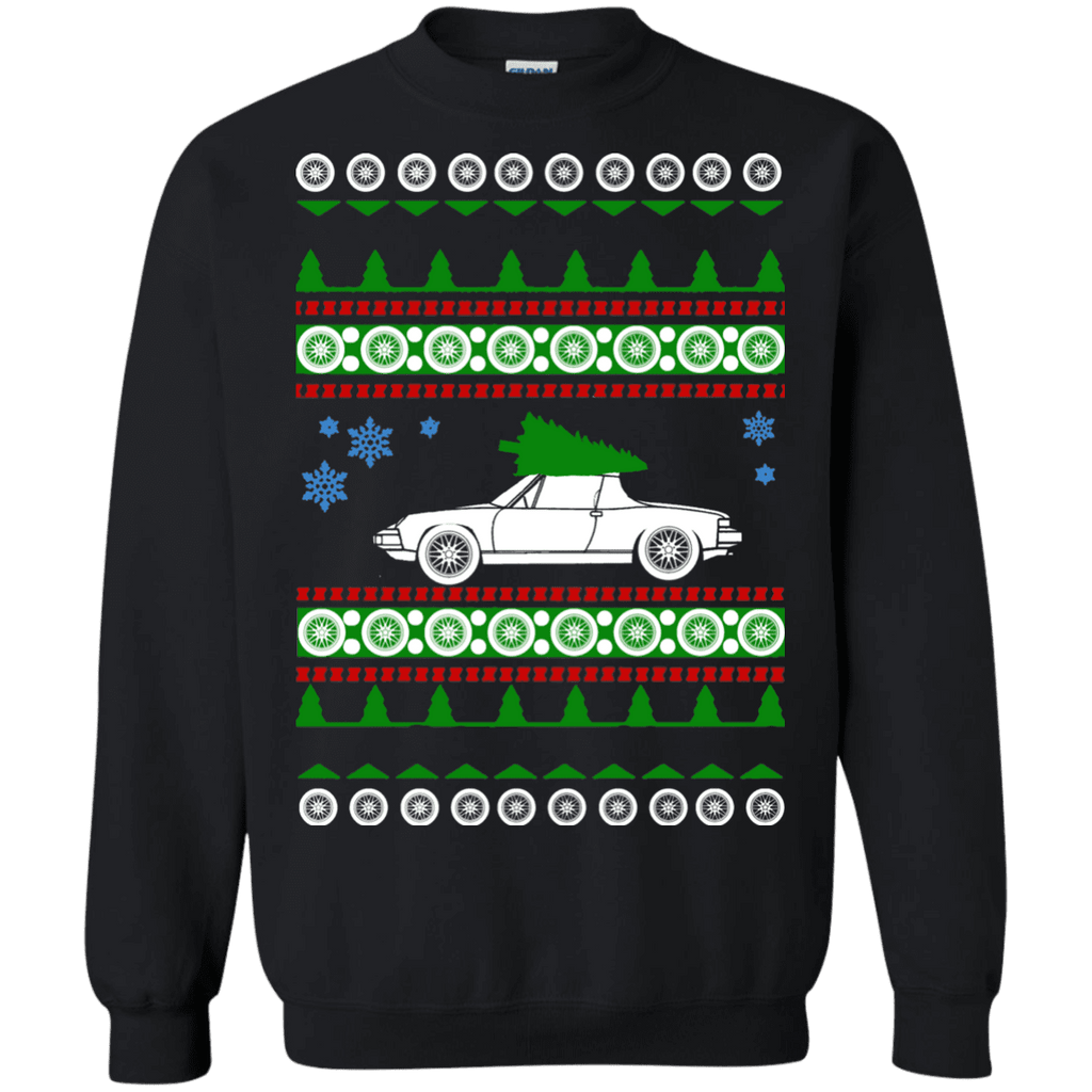 German Car Porsche style 914 Ugly Christmas Sweater sweatshirt