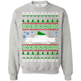 chevy belaire 1957 ugly christmas sweater