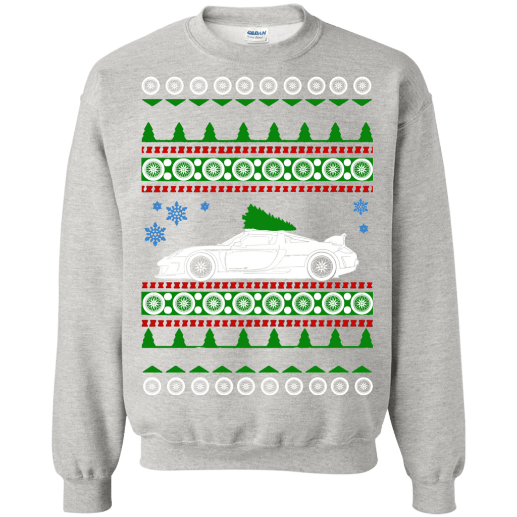 German Car  Carrera GT Ugly Christmas Sweater