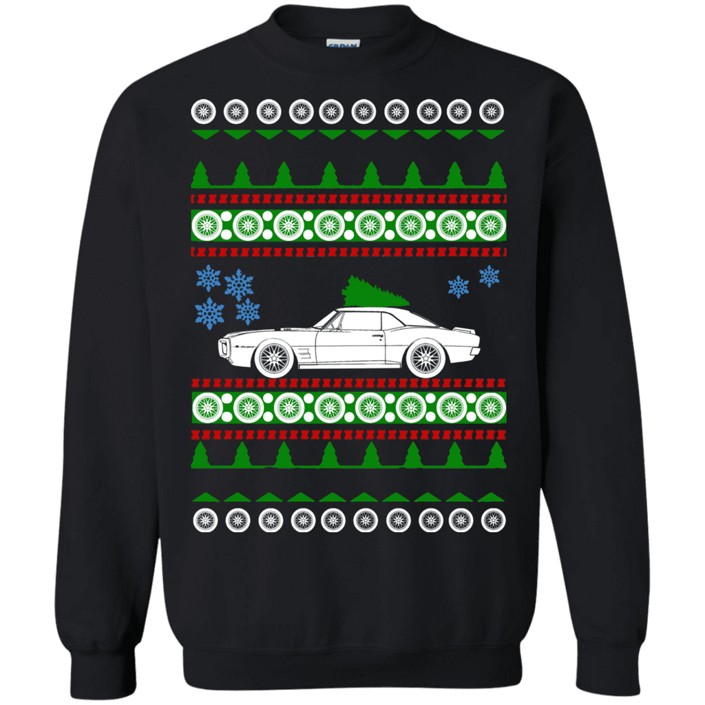 Pontiac TransAm 1969 Ugly Christmas Sweater