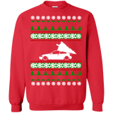 honda civic ek hatch ugly christmas sweater