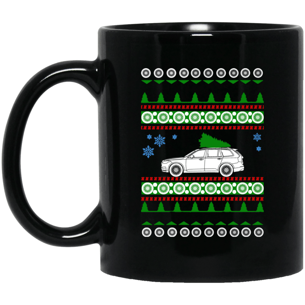 Volvo XC90 2016 Ugly Christmas Sweater Mug