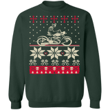 Biker Motorcycle Ugly Christmas Sweater sweatshirt