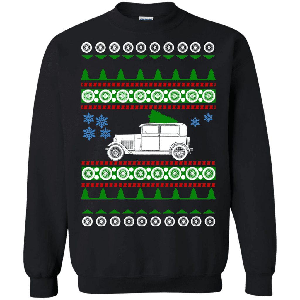 Old Car Model A Ford Ugly Christmas Sweater sweatshirt