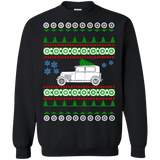 Old Car Model A Ford Ugly Christmas Sweater