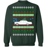 Old Car like Edsel Corsair Ugly Christmas Sweater Sweatshirt