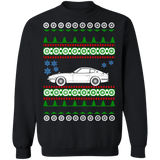 car like Datsun 240z Ugly Christmas Sweater no tree
