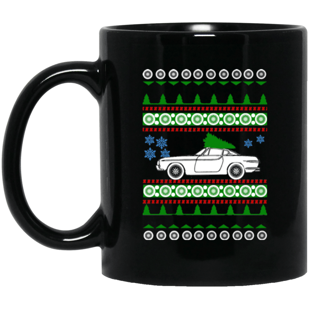 Volvo 1961 P1800 Ugly Christmas Sweater Mug