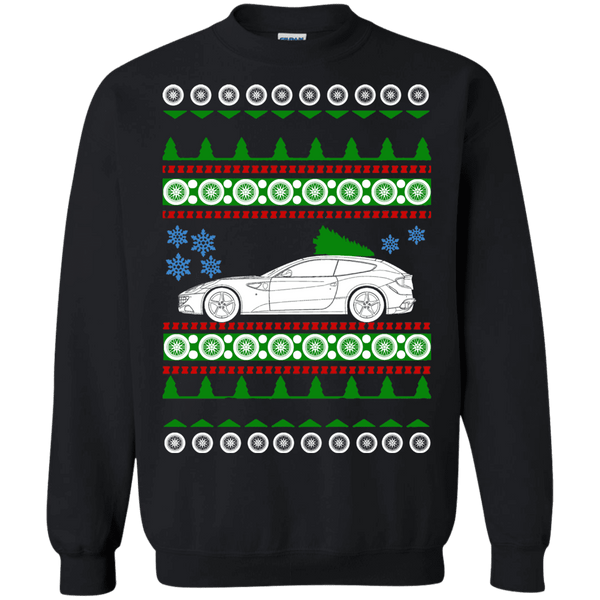 Exotic Car Ferrari FF Ugly Christmas Sweater sweatshirt