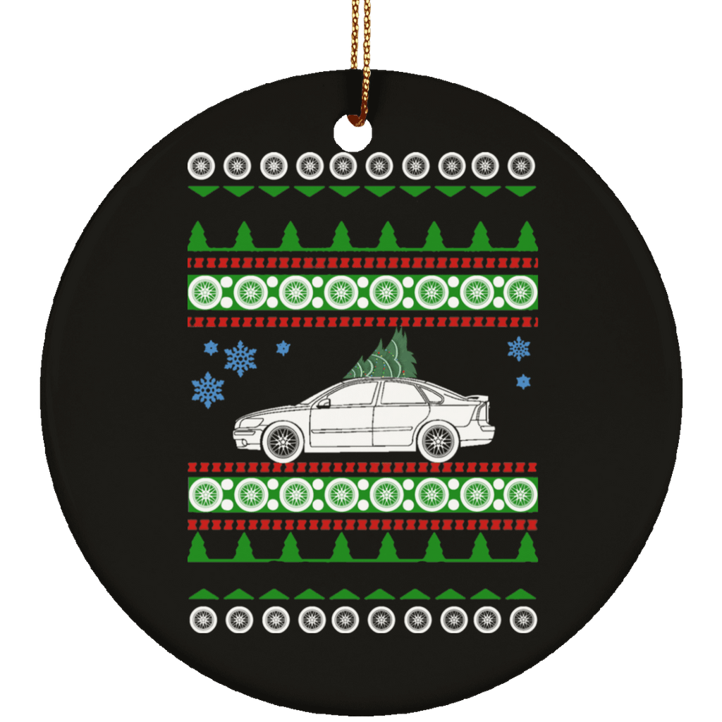 Volvo 2006 S40 Ugly Christmas Sweater Ornament