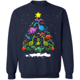 Dinosaur Tree Ugly Christmas Sweater sweatshirt