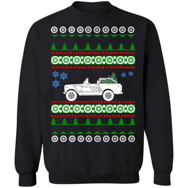 1979 International Harvester Scout 2 ugly christmas sweater